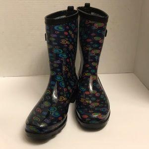 """Capelli """"New York"""" Rain Boots. Size 7"""